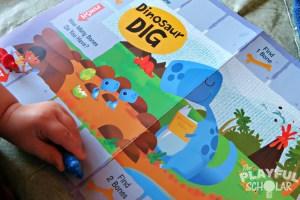 Dinosaur Dig Highlights