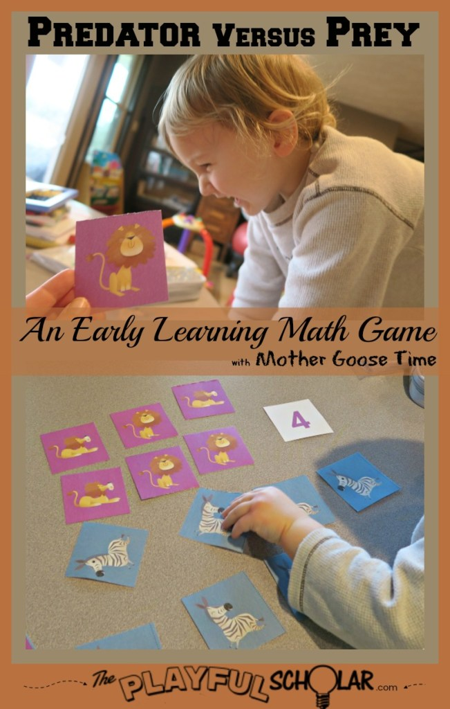 This math game is perfect for early learners. Have fun and learn through play while practicing recognizing numbers and greater than and less than.