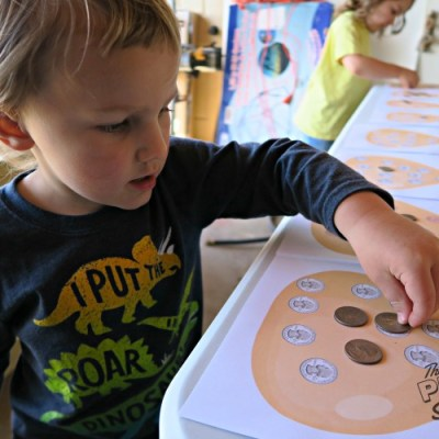 Desert Sand Discovery – Coins Game for Early Learners
