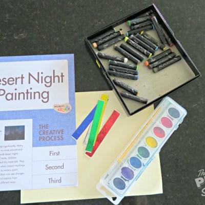 Desert Night – Invitation to Create
