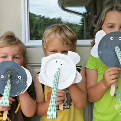 Make and Play Elephant Mask