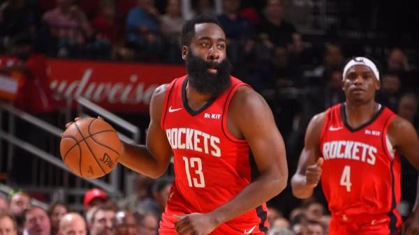 James Harden marca 37 pontos e brilha em vitória dos Rockets contra os Knicks