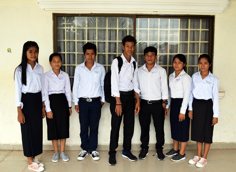 Srayang Graduates in Siem Reap