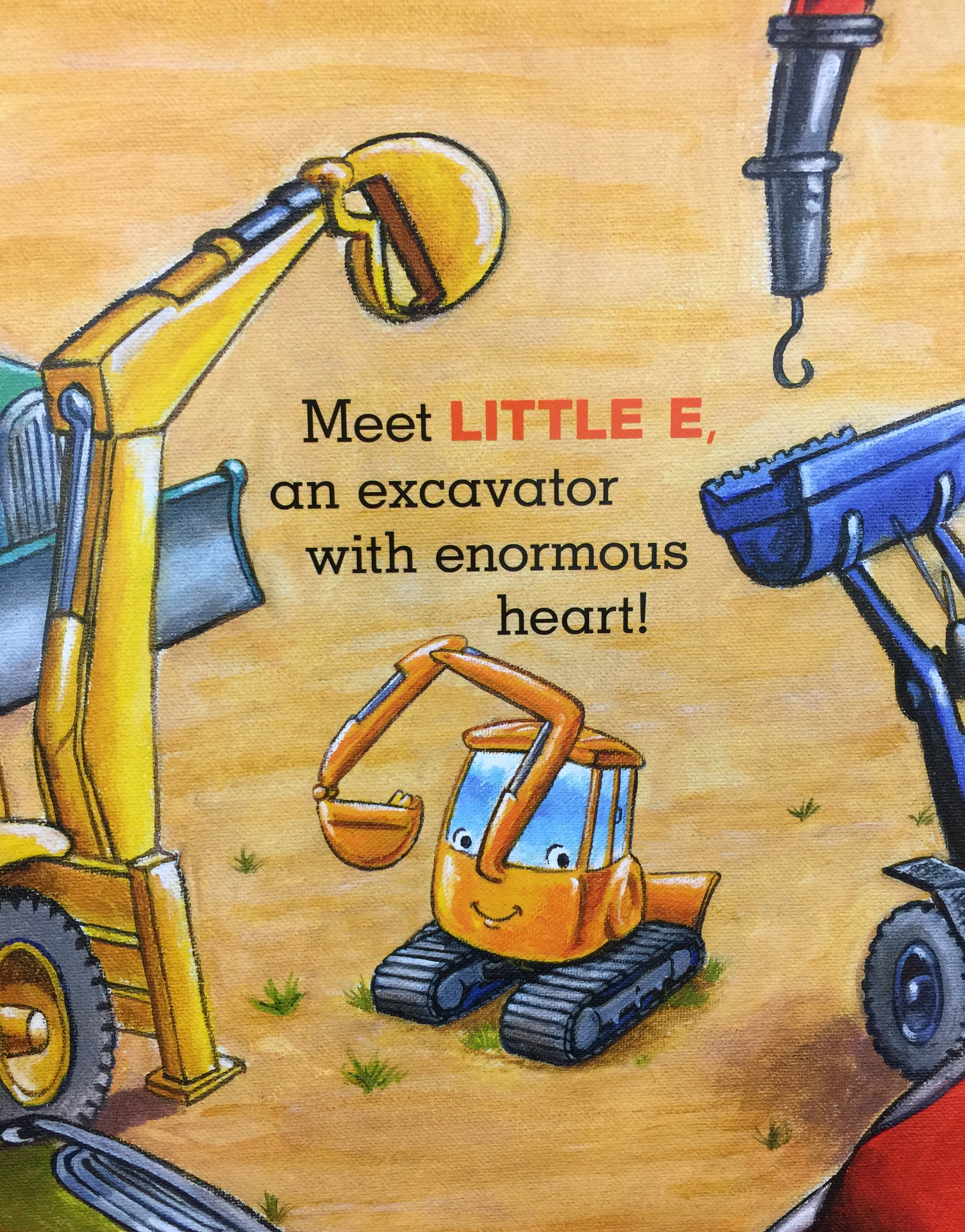 blog tour review little excavator by anna dewdney