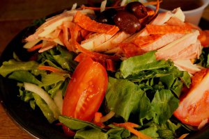 Plum Tomato Antipasto Salad