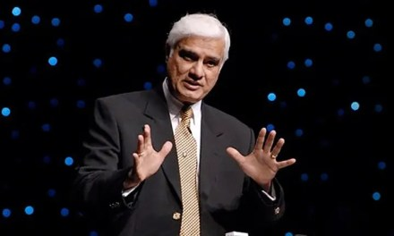 Ravi Zacharias: A man rejects God because…