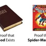 """The """"Spiderman fallacy"""" argument against Christianity?"""
