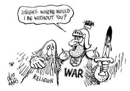 Does Religion Cause War? The Myth That Religion is War's #1 Cause