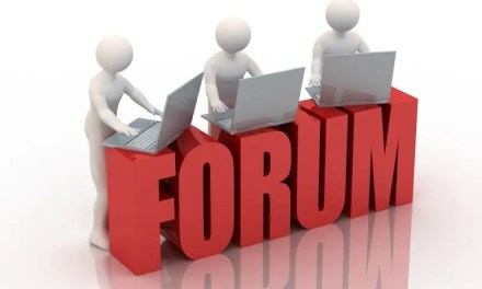 The online forum – engaging in the new public square