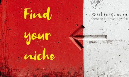 Finding your apologetic niche