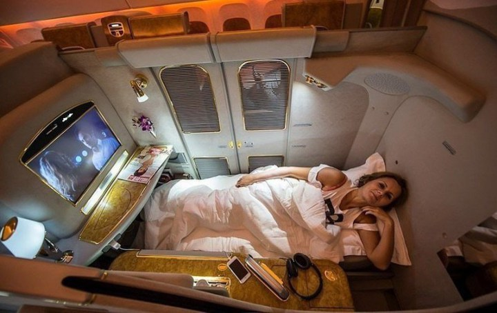 prima clasa pe emirates airline