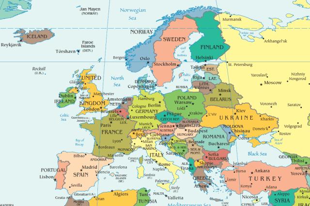 harta-politica-europa