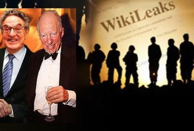 WikiLeaks, finanțat de GEORGE SOROS și ROTHSCHILD