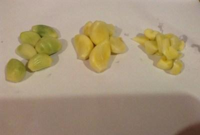 Cum să faci ca usturoiul să nu capete culoarea verde?