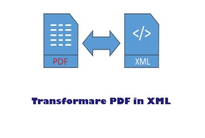 Cum să transformi fişiere PDF în XML?