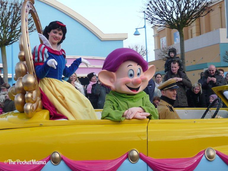 Biancaneve e Cucciolo ai Walt Disney Studios