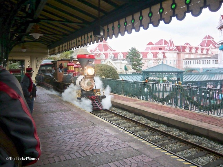 Disneyland Railroad a Disneyland Paris