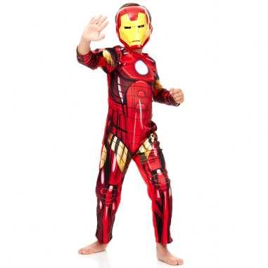 costume carnevale iron man kiabi