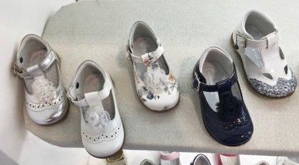 sandali a punta chiusa primi passi melania SS 2017