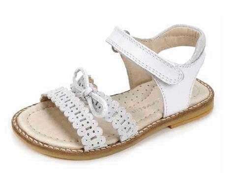 sandalo bianco ponza garvalin SS 2017