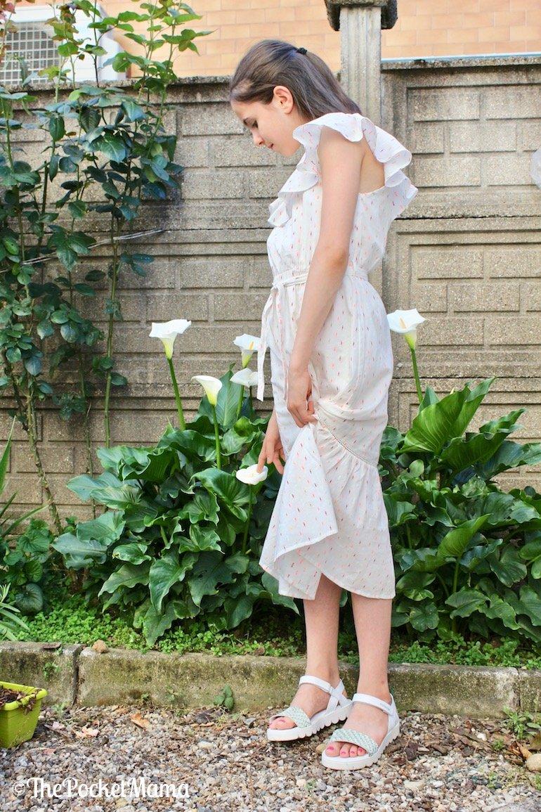 sandali melania con fascia decorata con brillantini