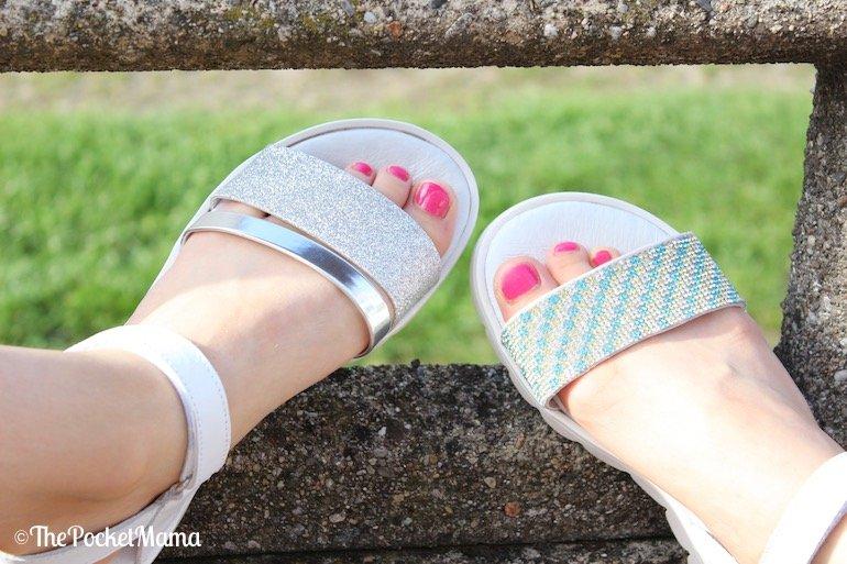 sandali melania per le bambine