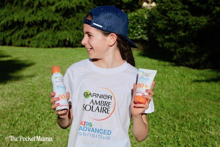 creme solari Garnier per bambini
