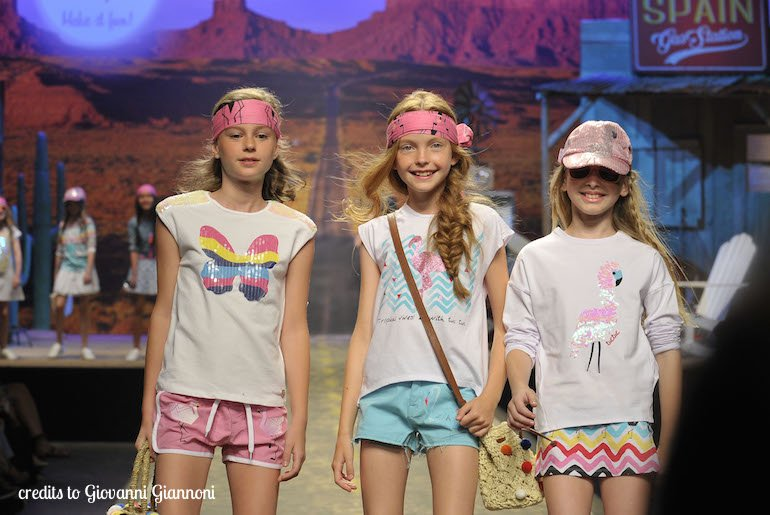 Pitti Bimbo 85: tendenze moda bambina primavera-estate 2018