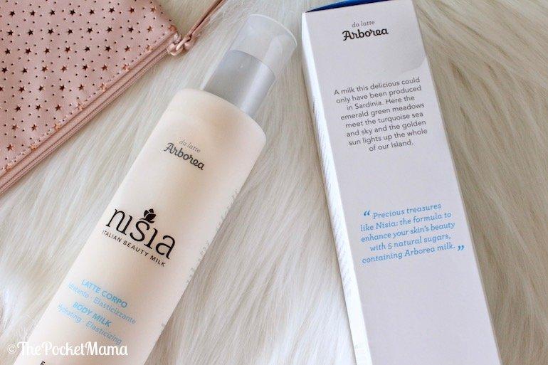 Nisia - latte corpo idratante elasticizzante