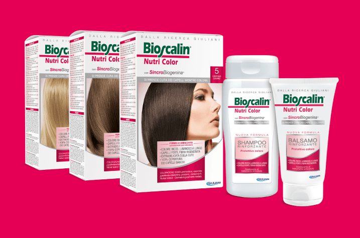 linea Bioscalin Nutri Color