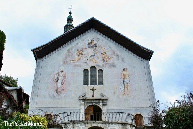 chiesa di Saint-Grat a Conflans