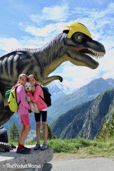 percorso dei dinosauri lago di emosson