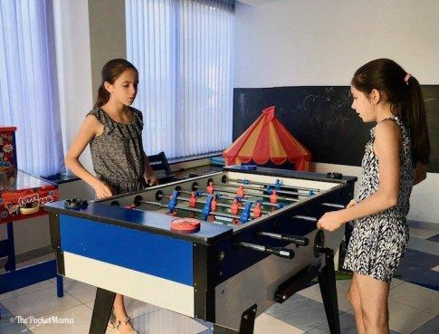 sala giochi hotel condor