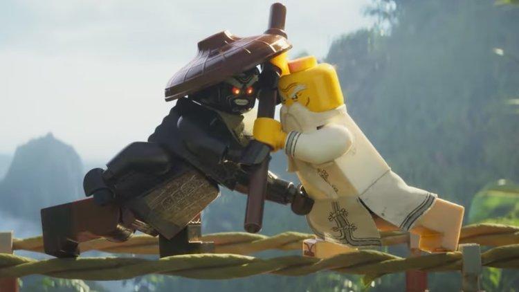 maestro Wu e Garmadon