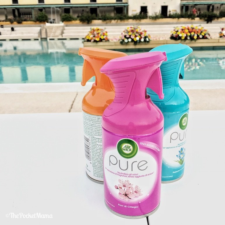 nuova linea fragranze per interni Air Wick Pure
