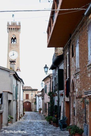 torre campanaria santarcangelo di romagna