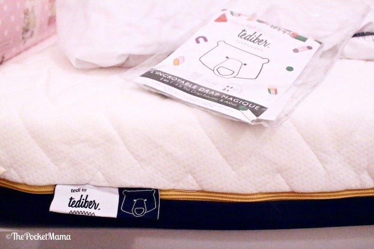 incredibile materasso Tediber con magico lenzuolino