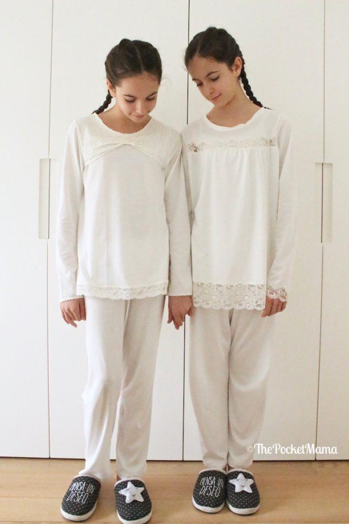 pigiami Piccola Lingerie e pantofole Gioseppo Kids
