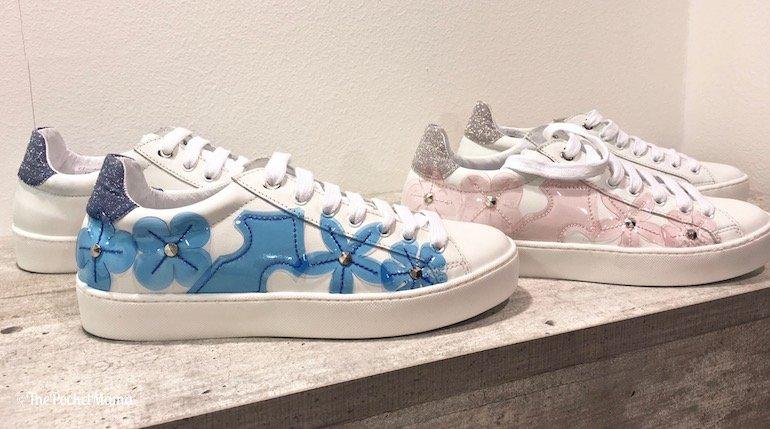 sneakers Elma Milani con applicazioni trasparenti