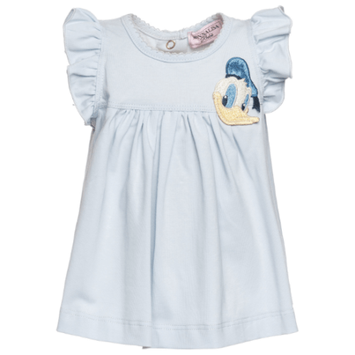 t-shirt in cotone duck Monnalisa SS 2018