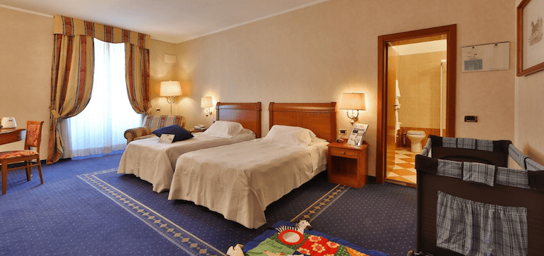 camera family hotel Best Western Cappello d'oro