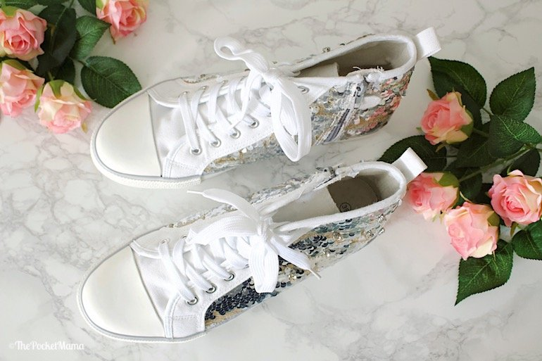 Twin-Set sneakers con paillettes