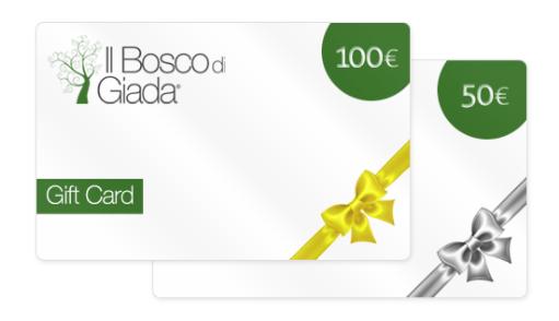 gift card il bosco di giada