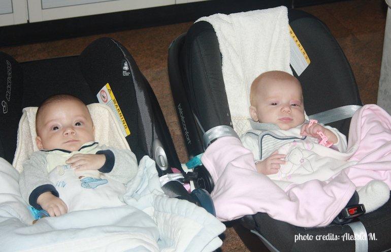gemelli di mamma Alessia