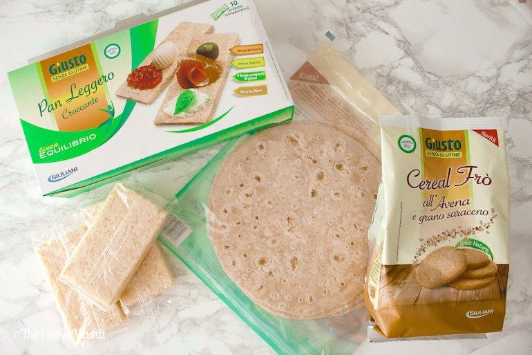 prodotti senza glutine Giusto di Giuliani