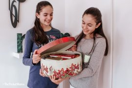 cesto natalizio METRO - regalo per i nonni