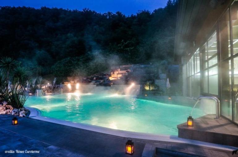 piscina termale Ròseo Euroterme Resort
