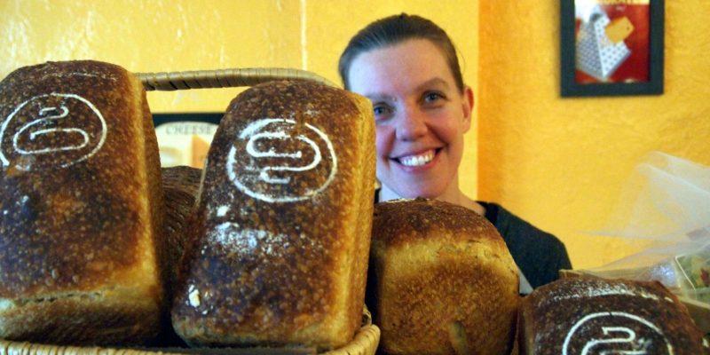 Yvette with Dear Grain bread