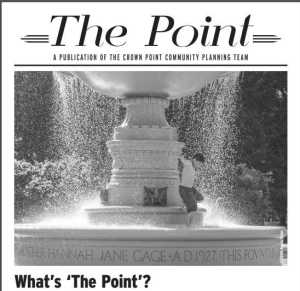 Image of the first issue of The Point