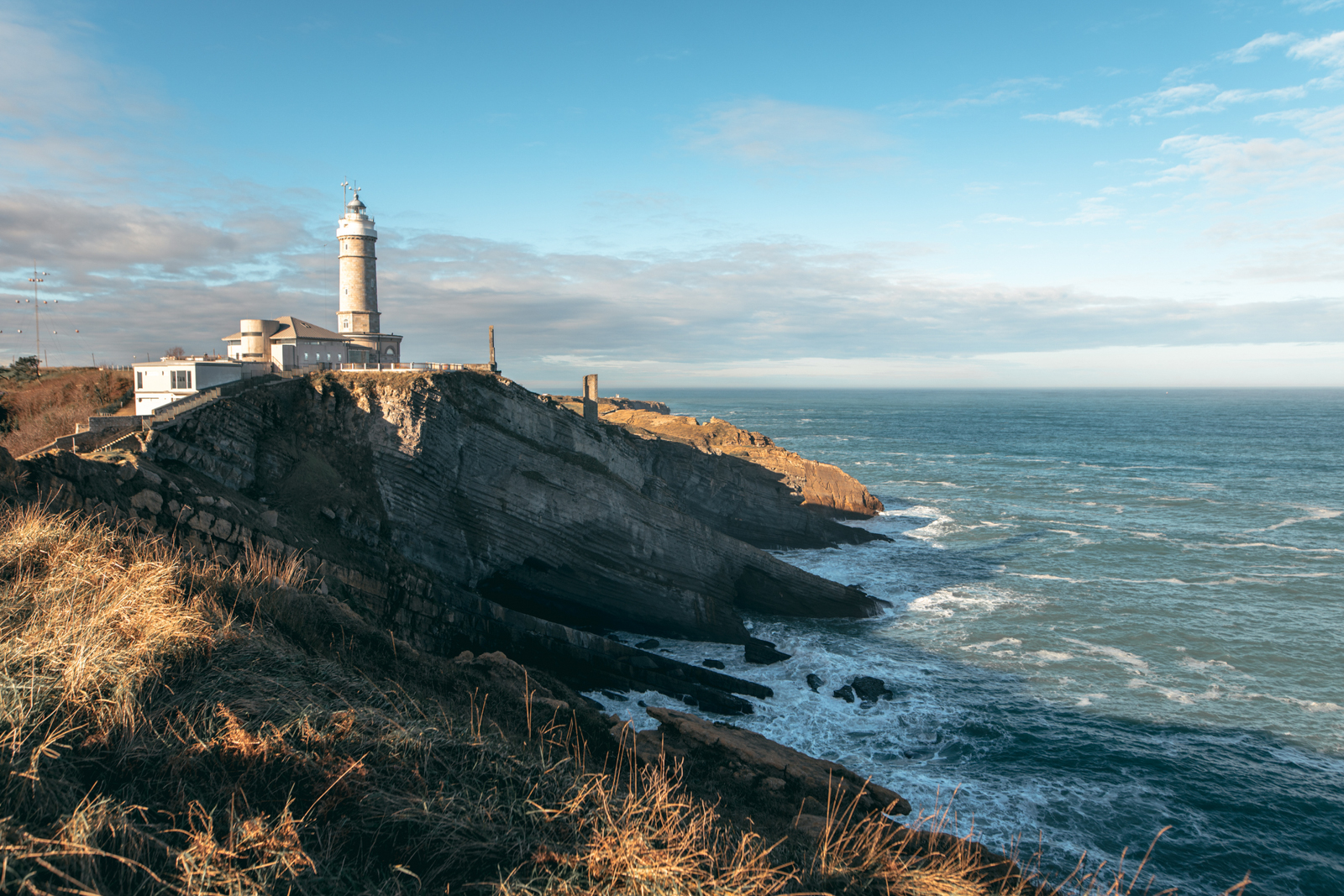 Cabo Mayor lighthouse in Santander, Spain. (Photo by MarioGuti/Getty Images)